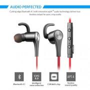 Auricolare-Bluetooth-SoundPEATS-Q12-In-orecchio-Bluetooth-cuffie-auricolari-con-microfono-magnete-Bluetooth-cuffie-per-lo-Sport-Red-0-1