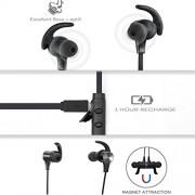 Cuffie-Bluetooth-Magnetiche-TaoTronics-Auricolari-Sportivi-Wireless-Stereo-Bluetooth-41-aptX-A2DP-6-ore-di-Riproduzione-Microfono-Incorporato-CVC-60-per-iPhone-Galaxy-Tablet-MP3-ecc-Nero-0-8