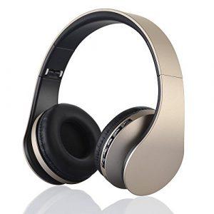 Cuffie-Bluetooth-PUGO-TOP-Wireless-pieghevole-Cuffie-stereo-auricolari-con-radio-FM-Slot-per-scheda-TF-Lettore-MP3-microfono-35-mm-cavo-della-porta-5-ore-di-autonomia-0