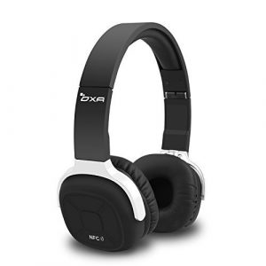 Cuffie-Bluetooth-senza-fili-OXA-Pieghevole-Sportive-Cancellazione-Di-Rumore-Auricolare-Bluetooth-Con-Microfono-NFC-e-Pedometro-Per-Dispositivi-Smartphone-Tv-Fino-A-180-Ore-In-Standby-Nero-0