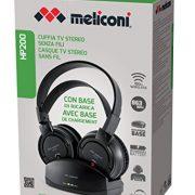 Meliconi-HP-200-Cuffie-da-TV-Stereo-Senza-Fili-Base-di-Ricarica-Nero-0-1