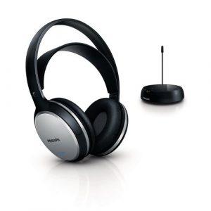 Philips-SHC5100-Cuffie-Hi-Fi-FM-Wireless-Ricaricabili-NeroArgento-0